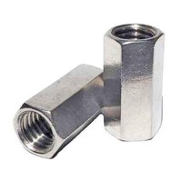 STAINLESS HEX COUPLING NUTS