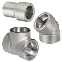 FORGED PIPE FITTINGS, SOCKET WELD, STAINLESS