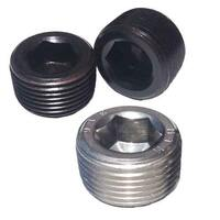 SOCKET PIPE PLUGS, Steel and Stainless Steel