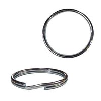 "1-1/4"" Split Ring, Steel, Zinc"